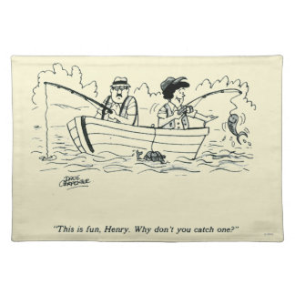 Fishing Trip Placemat