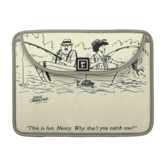 Fishing Trip Sleeves For MacBook Pro