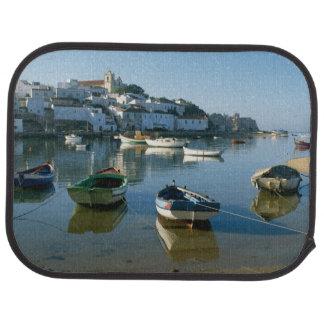 Fishing Village of Ferragudo, Algarve, Portugal Car Mat