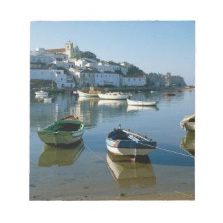 Fishing Village of Ferragudo, Algarve, Portugal Notepad