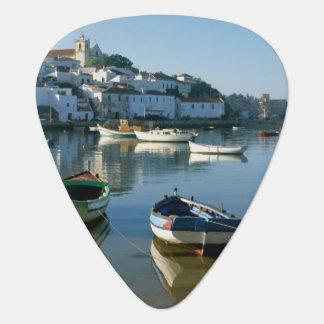 Fishing Village of Ferragudo, Algarve, Portugal Plectrum