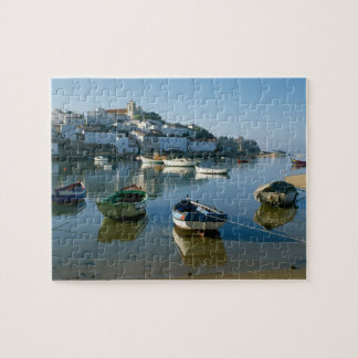 Fishing Village of Ferragudo, Algarve, Portugal Puzzle