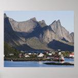 Fishing village Reine, Moskenesoy island, Poster