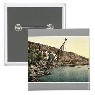 Fishing village, Volosca, Abbazia, Austro-Hungary Pins