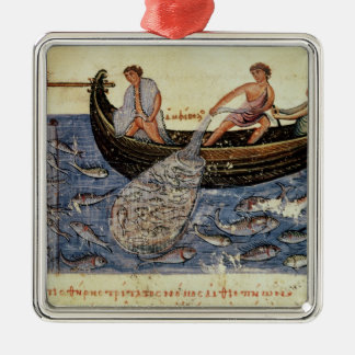 Fishing with a Net Christmas Ornament