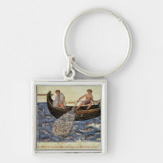 Fishing with a Net Key Ring