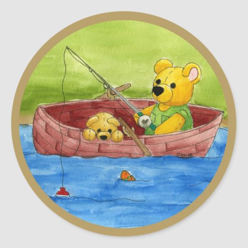 Fishing With Dad Sticker