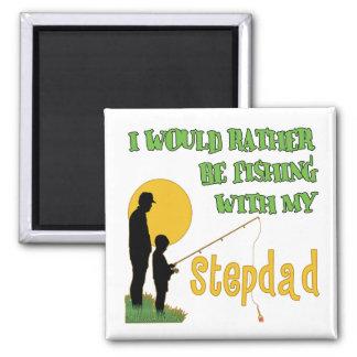 Fishing With My Stepdad Fridge Magnet