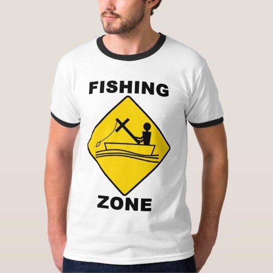 Fishing Zone Ringer T-shirt