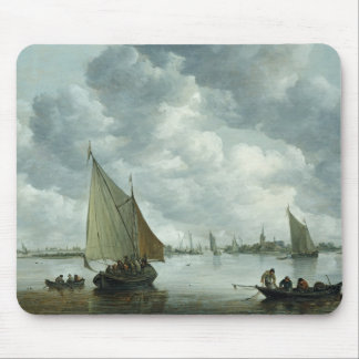 Fishingboat in an Estuary, 1655 Mouse Pad
