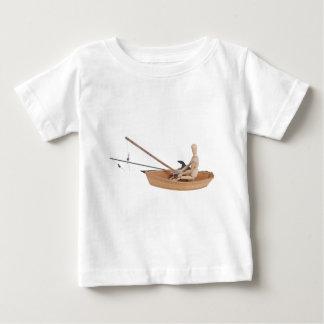 FishingWoodenBoatRodReel050314.png Tshirt