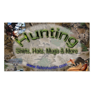 FishinHuntin com official card Business Cards