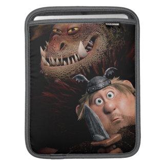 Fishlegs & Meatlug iPad Sleeves