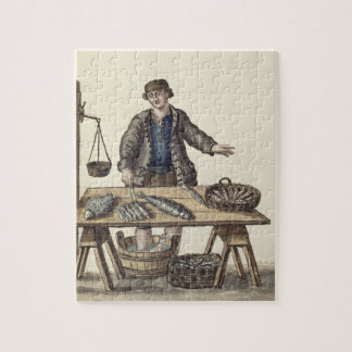 Fishmonger, Venetian (manuscript) Jigsaw Puzzle