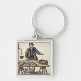 Fishmonger, Venetian (manuscript) Key Ring