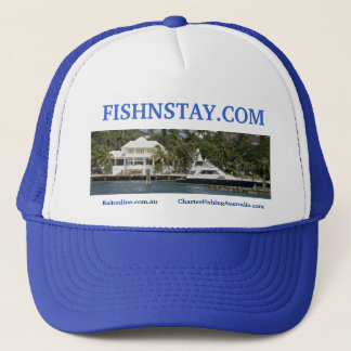 FISHNSTAY TRUCKER HAT