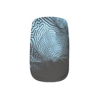 Fishskinned Abstract Nailart Minx Nail Art