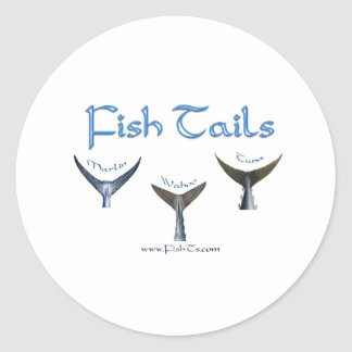 FishTails Collection by FishTs.com Classic Round Sticker