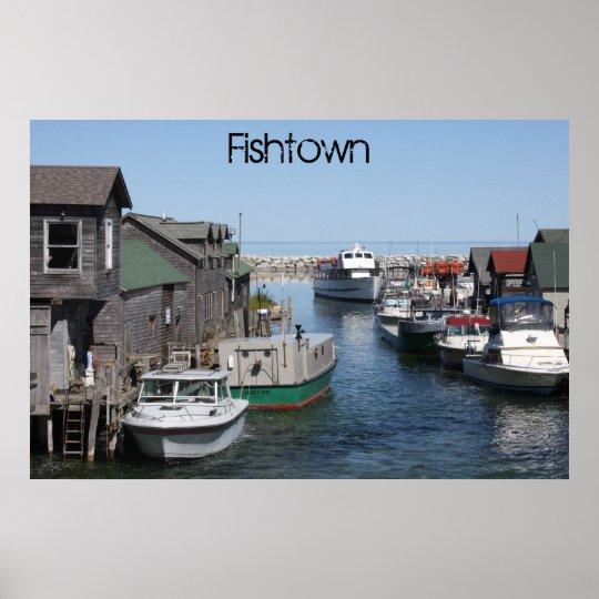 Fishtown Leland Poster