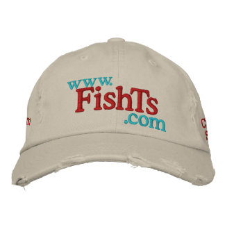 FishTs Embroidery Site Logo Embroidered Hats