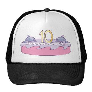Fishy 10th Birthday Gifts Trucker Hat