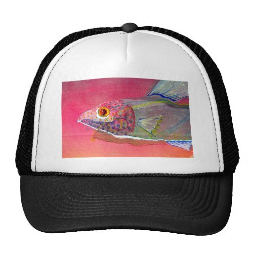 Fishy Alright Mesh Hats