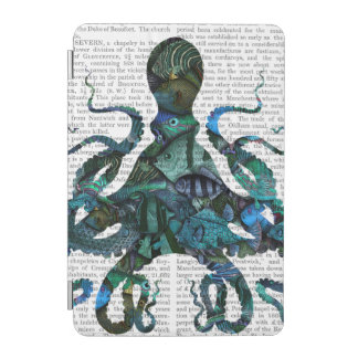 Fishy Blue Octopus iPad Mini Cover