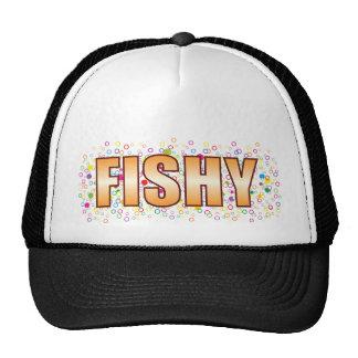 Fishy Bubble Tag Cap