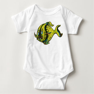 Fishy Fish Baby Bodysuit