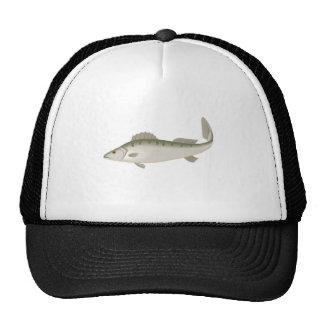 Fishy Fish Fishing Fisher Trout Cap