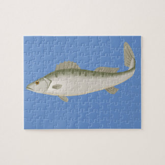 Fishy Fish Fishing Fisher Trout Jigsaw Puzzle