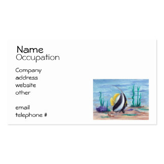 Fishy Fishy Pack Of Standard Business Cards