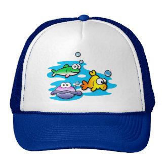 Fishy Friends Trucker Hats