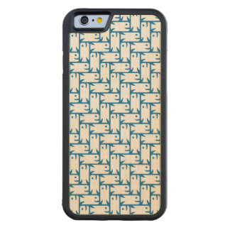 Fishy Herringbone Pattern iPhone Case