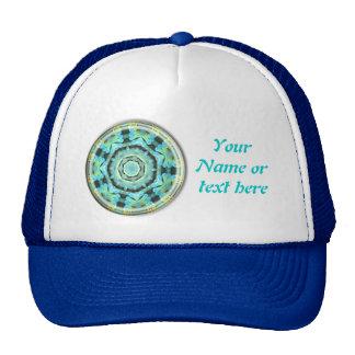 Fishy mandala cap trucker hat