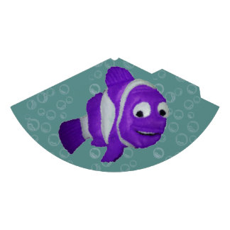 Fishy Purple Party Hat