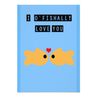 Fishy Valentine's Day Card