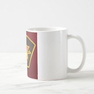 fist and red star coffee mug
