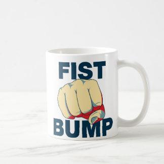 Fist Bump Basic White Mug