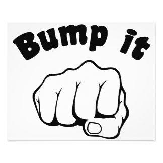 Fist Bump It 11.5 Cm X 14 Cm Flyer