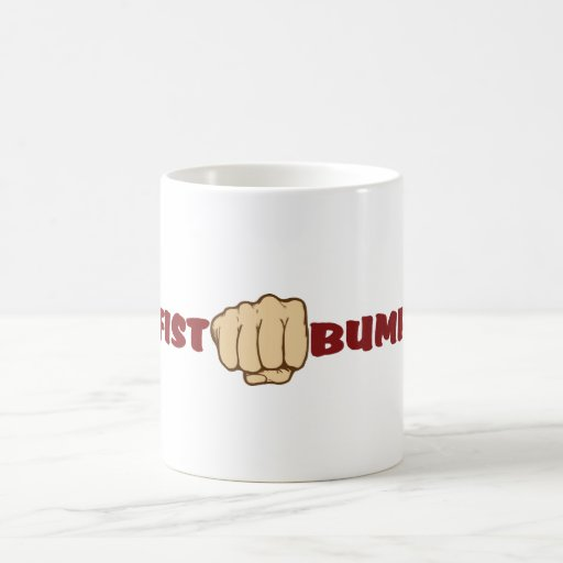 Fist Bump Coffee Mugs