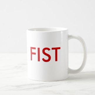 FIST CUP BASIC WHITE MUG
