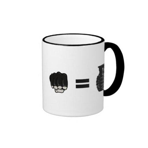 fist = grenade mug