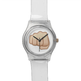Fisted Hand Sign Emoji Watches