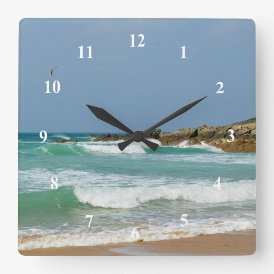 Fistral Beach Newquay Cornwall England Wall Clock