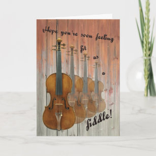 Fit as a Fiddle Card