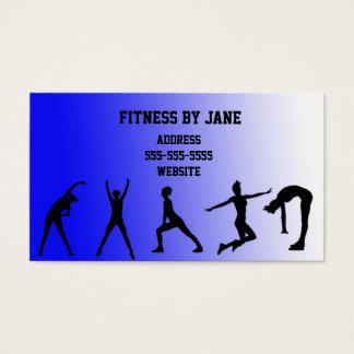 fit blue business card