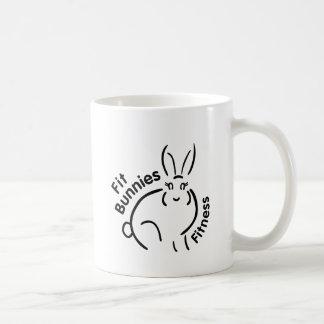 Fit Bunnies Accessories Basic White Mug