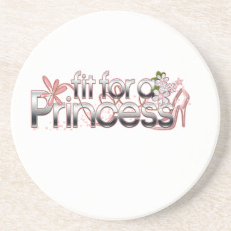 Fit for a Princess Girl Glass Slipper Coaster