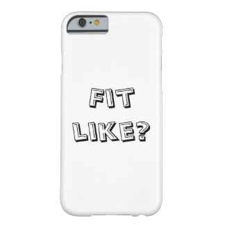 Fit Like? Phone Cover - Doric